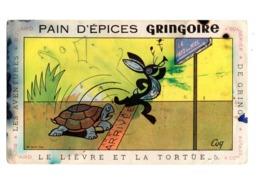 Buvard Pain D Epice Gringoire Les Aventure De Gringo Le Livre Et La Tortue 5 Delcey Dole Miel - Gingerbread