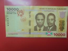 BURUNDI 10.000 FRANCS 2015 PEU CIRCULER/NEUF (B.12) - Burundi