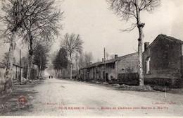 CPA - 51 - SOMMESOUS - Route De Châlons-sur-Marne à Mailly - Collection Gallois - Autres Communes