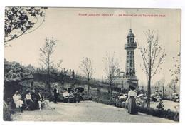 VERZENAY  PHARE JOSEPH GOULET LE ROCHER ET UN TERRAIN DE JEUX - France