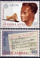 Joegoslavie Yougoslavie Cept 1988 Yvertnr. 1983-84 *** MNH Yvertcôte 2.75 Euro - 1985