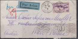 FRANCE- 1935 - BLERIOT 2.25FR ON COVER TO VIENNA, AUSTRIA - France