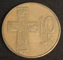 SLOVAQUIE - SLOVAKIA - 10 KORUNA 1993 - KM 11 - Eslovaquia