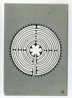 CP Inutilisée - Cathédrale De Chartres - Labyrinthe XIII ème Siècle - Editions Houvet - Fine Arts