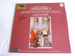 LP, BACH, Oeuvres Pour Orgue, Toccata & Fugue BWV 565, Präludium & Fugue BWV 546, Gustav Leonhardt, Album 2 Disques - Classical