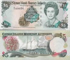 Cayman Islands 2005 - 5 Dollars - Pick 34 UNC - Iles Cayman