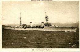 "N°6512 -cpa Le Croiseur ""Suffren"" - Warships"