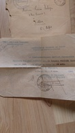 8 Lettres En FM D'un Sergent Basé à St Hippolyte (25) 77ème Régiment Entre 21/05 Et 13/05/40 Pour Valdoie (90) - Poststempel (Briefe)