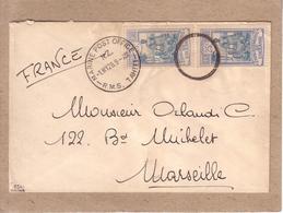 OCEANIE , POLYNESIE FRANCAISE - LETTRE DEPART DE TAHITI , NAVIRE MARINE POSTE OFFICE NOUVELLE ZELANDE - SIGNEE ?? - 1928 - Autres