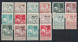 Caritas - Série Complète çàd N°92/99 + 100/107 En Fine Charnière / MH. Cote 545e - 1910-1911 Caritas