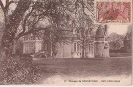 CHÂTEAU De BONNETABLE - Coin Pittoresque. Timbre Jean Jaurès - Bonnetable