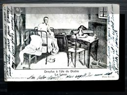 AFFAIRE DREYFUS ANTIJUDAICA ANTISEMITISME DREYFUS A L'ILE DU DIABLE  CARTE VOYAGE 1899 - Ereignisse
