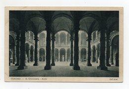 Torino - Regia Università - Atrio - Viaggiata Nel 1930 - (FDC21505) - Education, Schools And Universities