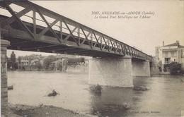 40 - Grenade-sur-Adour - Le Grand Pont Métallique Sur L'Adour - France