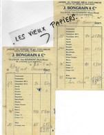 52 - Haute-marne - ILLOUD - Facture BONGRAIN - Laiterie - 1952 - REF 146A - 1900 – 1949