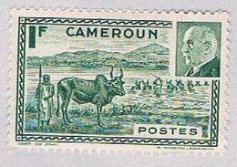 Cameroun 281A MLH Fording Cattle 1941 (BP46023) - Cameroun (1915-1959)