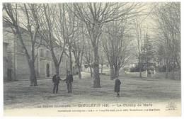 Cpa Drôme - Dieulefit - Le Champ De Mars - Dieulefit