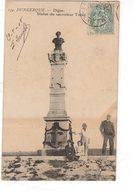 Dunkerque Digue , Statue Du Sauveteur Tixier - Dunkerque