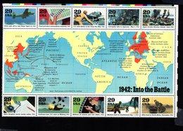 985934393 1992 SCOTT  2697 (XX) POSTFRIS MINT NEVER HINGED EINWANDFREI - WORLD WAR II - 1942 INTO THE BATTLE - Ungebraucht