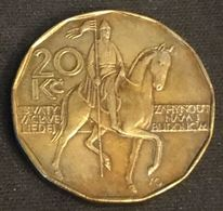 REPUBLIQUE TCHEQUE - Czech Republic - 20 KORUN 1993 - KM 5 - Tchéquie