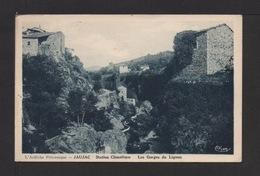 CPSM . 07 . JAUJAC . Les Gorges Du Ligno . - France