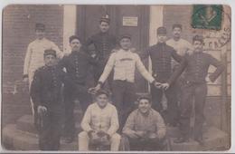 ARRAS - Carte-photo Militaire Chrétien Rue De La Caisse D'Epargne - Arras