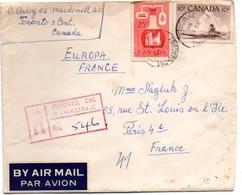 Toronto Parkdale 1960 - Registered Letter - Lettres & Documents