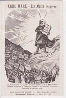 Politique , Karl Marx ,der Moderne Moses ,the Modern Moses ,le Capital ,manifeste Communiste - Personaggi