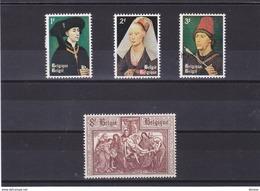 BELGIQUE 1964 ROGIER DE LA PASTURE PEINTURES Yvert 1300-1303 NEUF** MNH - Belgium
