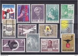 BELGIQUE 1965 Yvert 1313-1314 + 1321 +  1327-1336 NEUF** MNH - Belgium