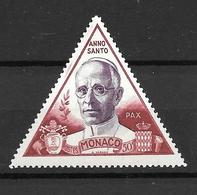 1951 - Monaco - Pape Pie XII - YT 354 - MNH** - Neufs