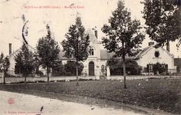CPA - 18 - AUGY-SUR-AUBOIS - Mairie Et Ecole - France