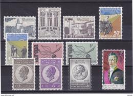 BELGIQUE 1965 Yvert 1337-1343 + 1349-1351 + 1359 NEUF** MNH - Belgium