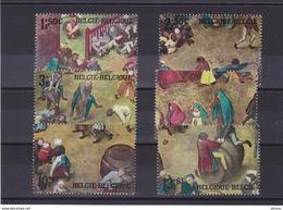 BELGIQUE 1967 BREUGHEL JEUX D'ENFANTS Yvert 1437-1442 NEUF** MNH - Belgien