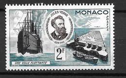 1955 - Monaco -jules Verne - YT 428 - MNH** - Neufs