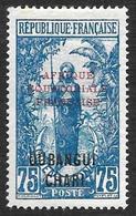 OUBANGUI-CHARI  1925-27  - YT   66  - Neuf* Avec Aminci - Neufs