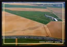 02  SOISSONS  COURMELLES   ....  Aeroport - Soissons