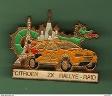 CITROEN ZX *** RALLYE RAID *** 2044 (80) - Automobilismo - F1