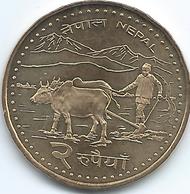Nepal - VS2063 (2006) - Gyanendra - 2 Rupees - KM1188 - Nepal
