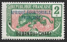OUBANGUI-CHARI  1924-25  - YT   44  - NEUF* - Neufs