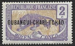 OUBANGUI-CHARI  1915-18 - YT  2 -  NEUF* - Neufs