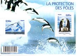 France.bloc Feuillet F4350 De 2009.la Protection Des Poles.n**. - Blocs & Feuillets