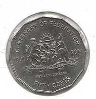 AUSTRALIA 50 CENTS NSW - Decimal Coinage (1966-...)