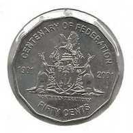 AUSTRALIE 50 CENTS NORTH TERRITORY - Moneta Decimale (1966-...)