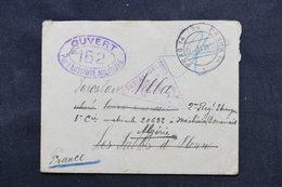 TCHÉCOSLOVAQUIE - Enveloppe En FM De Prague Pour Légionnaire En Tunisie En 1917 Avec Cachet De Censure De Wien - L 59252 - Tchécoslovaquie