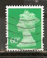 Grande-Bretagne Great Britain Machins 60p Obl - Machins