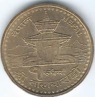 Nepal - VS2062 (2005) - Gyanendra - 1 Rupee - KM1181 - Nepal