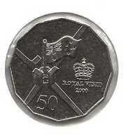 AUSTRALIE 50 CENTS ROYAL VISIT - Moneta Decimale (1966-...)