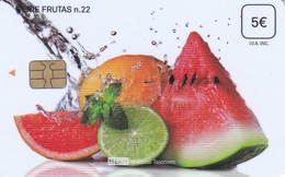 ISN-229 TARJETA DE ESPAÑA DE ISERN  DE LA SERIE FRUTAS Nº22 (FRUTA-FRUIT) - Alimentation