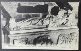 CPA 22 TREGUIER - Intérieur De La Cathédrale - Tombeau De St. Yves (détail) - ND 86 -   Réf. X 185 - Tréguier